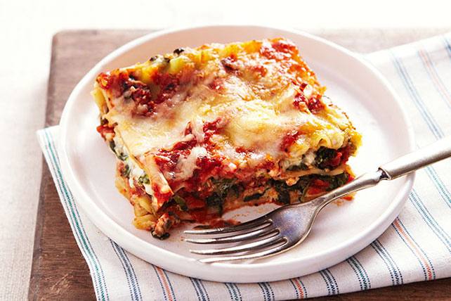 Spinach Lasagna Recipe Image 1