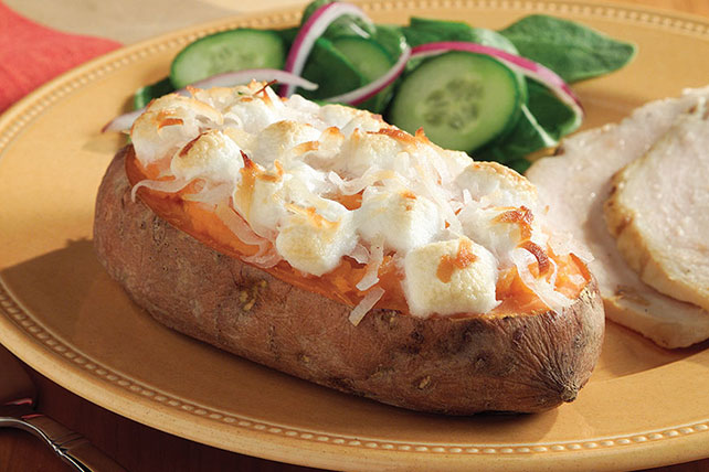 Double-Baked Sweet Potatoes