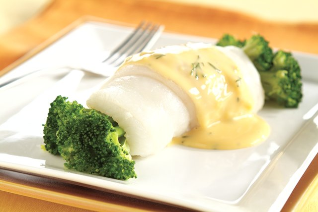 Lemon Broccoli Fish Image 1
