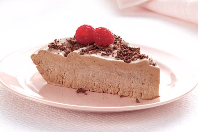 Frozen Chocolate Raspberry Cheese Pie Image 1