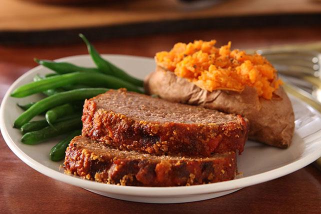 KRAFT Parmesan Meatloaf Image 1