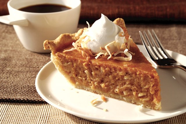Coconut-Sweet Potato Pie Image 1