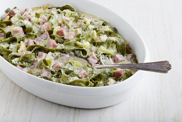 Creamy Ham and Noodle Casserole Image 1