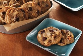 Coffee-Chocolate Chunk Cookies