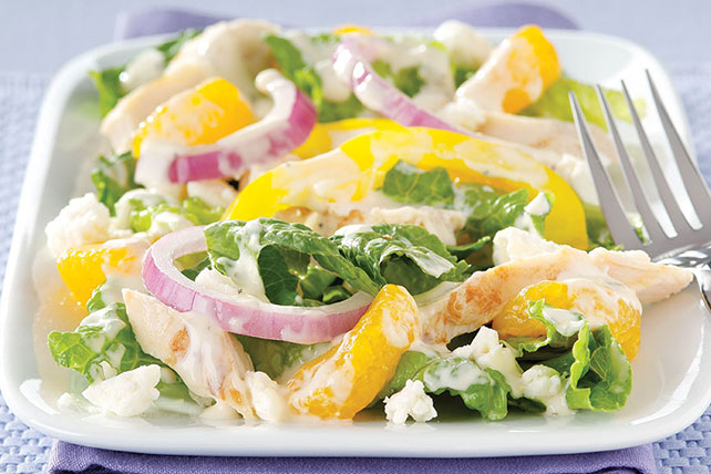 Citrus Chicken & Feta Salad Image 1