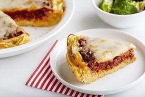 Italian Spaghetti Pie