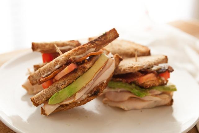California Club Sandwich Image 1