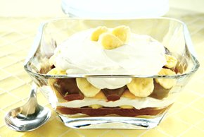 Black & White Banana Pudding