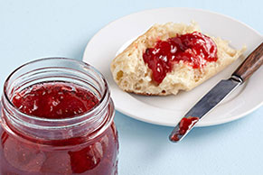 SURE.JELL Strawberry Jam Image 1