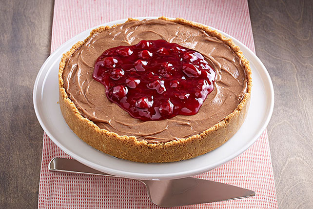 Chocolate Cherry Cheesecake Image 1