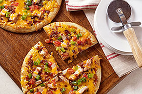 BBQ Chicken & Bacon Pizza