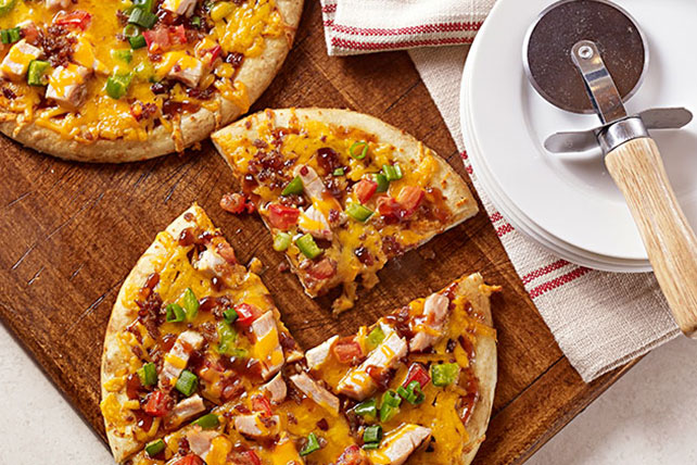 BBQ Chicken & Bacon Pizza Image 1