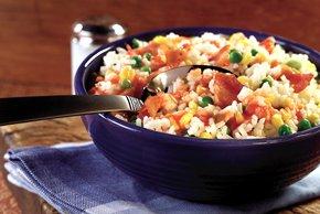 Rustic Bacon-Rice Salad