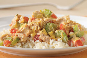 Creole Tuna and Rice