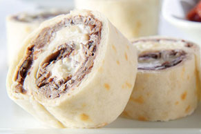 Black Bean Pinwheels