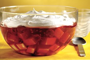 Easy Double-Berry Trifle