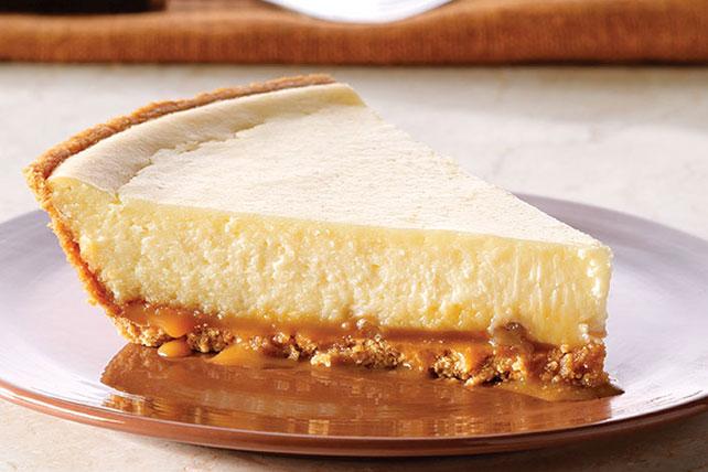 PHILADELPHIA® 3-STEP® Caramel Pecan Cheesecake Image 1