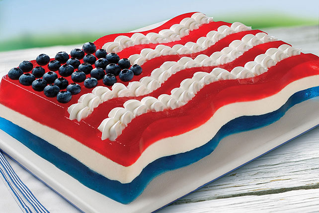 All-American Flag JELL-O Mold
