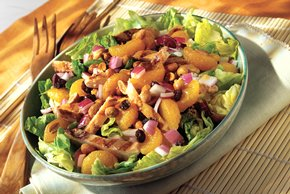 Peanut-Mandarin Chicken Salad