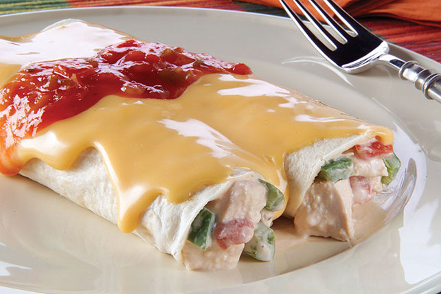 Cheesy Chicken Enchilads Recipe Image 1