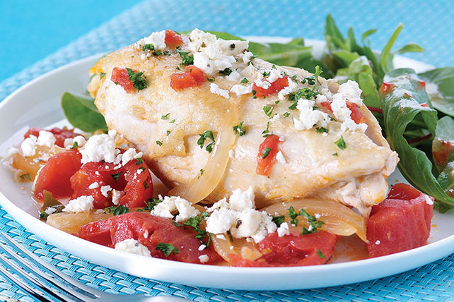 Easy Skillet Feta Chicken Image 1