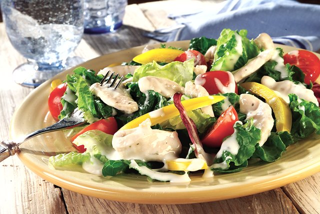 Creamy Ranch & Parmesan Chicken Salad Image 1