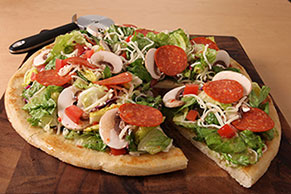 Italian Pizza Bowl Salad