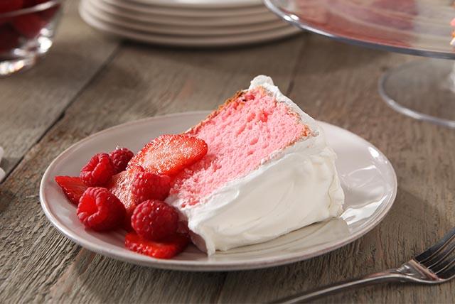 Pastel Angel Cake Image 1