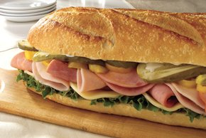 Zesty Turkey and Ham Sandwich