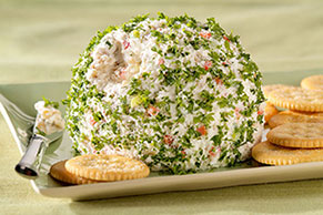 Holiday Feta Cheese Ball