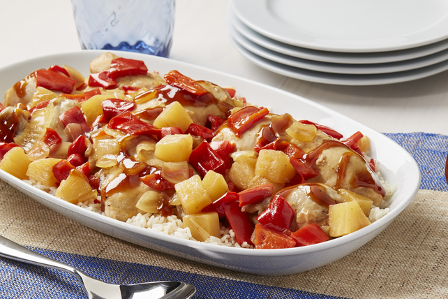 Slow-Cooker Pineapple-BBQ Chicken Image 1