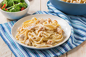 Easy Chicken Fettuccine