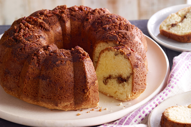 Moist Sour Cream Coffee Cake Image 1