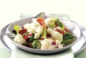 Creamy Cauliflower-Lettuce Salad