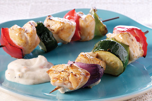 Tangy Grilled Chicken Kabobs Image 1