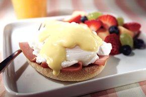 Easy Ham & Eggs Benedict