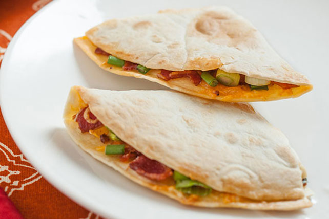 Bacon Quesadillas Recipe Image 1