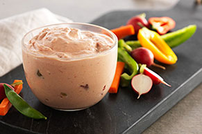 PHILADELPHIA Creamy Salsa Dip