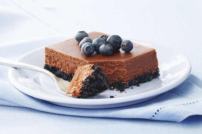 PHILADELPHIA Double-Chocolate Cheesecake Image 1