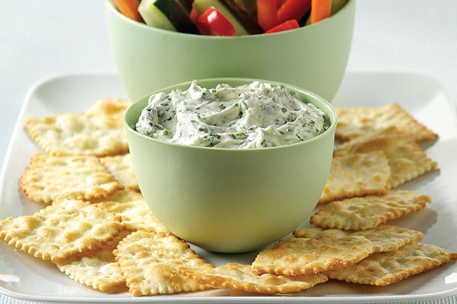 PHILADELPHIA® Garlic and Herb Dip Image 1