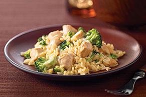 VELVEETA® Creamy Chicken Broccoli Skillet