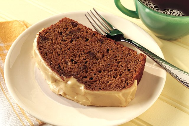 Coffee Pumpkin Bread with Coffee Icing