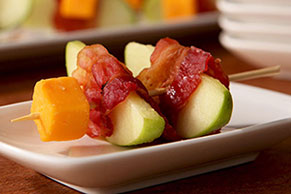 Orchard Bacon-Cheddar Kabobs