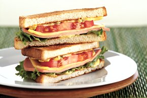 Marvelous Bologna Sandwich