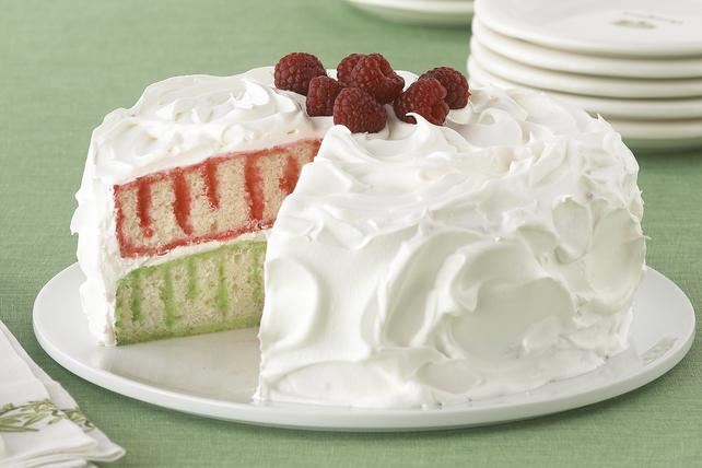 Gâteau à trous JELL-O pour les Fêtes Image 1