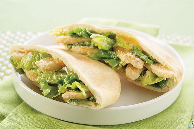 Chicken Caesar Pita Image 1