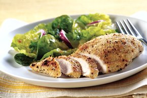Grilled Garlicky Chicken Breasts