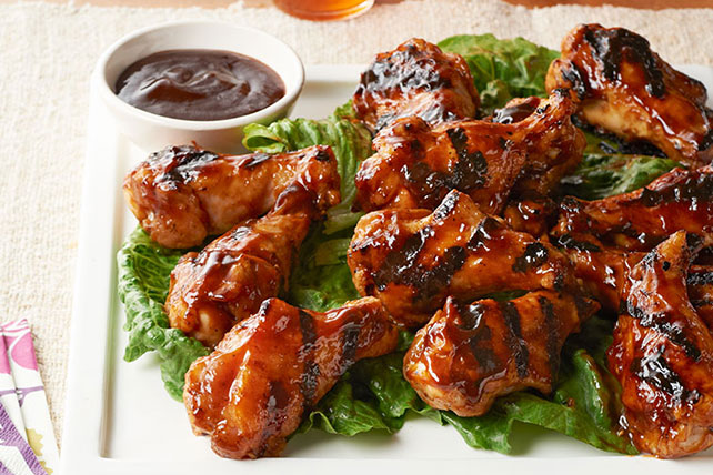 Asian Honey BBQ Chicken Drummettes Image 1