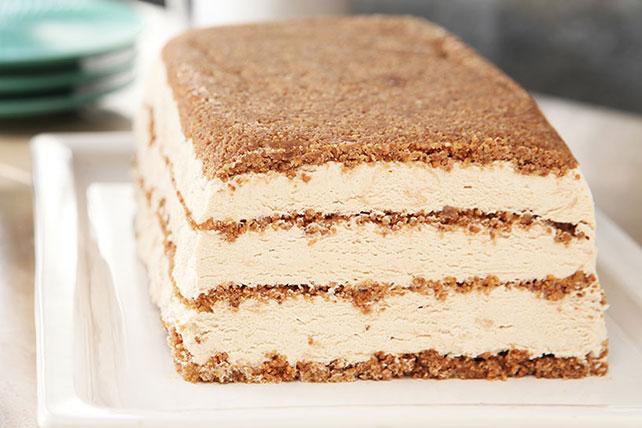 Cappuccino Cheesecake Frozen Dessert Image 1