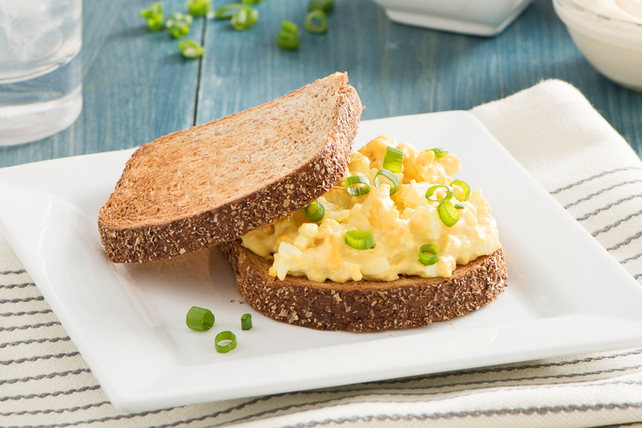 Sandwichs grillés aux œufs Image 1